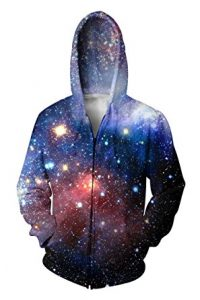 best galaxy print hoodie