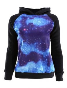 best galaxy printed sweaters for astronomy lovers